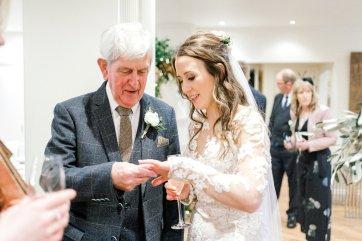 Pronovias Wedding Dress for a Winter Wedding at Mitton Hall (c) Kieran Bellis Photography for Brides Up North (55)