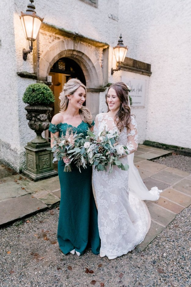Pronovias Wedding Dress for a Winter Wedding at Mitton Hall (c) Kieran Bellis Photography for Brides Up North (60)