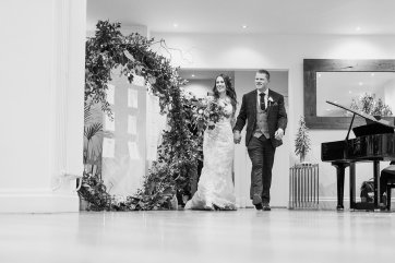 Pronovias Wedding Dress for a Winter Wedding at Mitton Hall (c) Kieran Bellis Photography for Brides Up North (62)