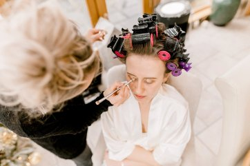 Pronovias Wedding Dress for a Winter Wedding at Mitton Hall (c) Kieran Bellis Photography for Brides Up North (7)