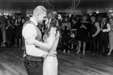 Pronovias Wedding Dress for a Winter Wedding at Mitton Hall (c) Kieran Bellis Photography for Brides Up North (73)