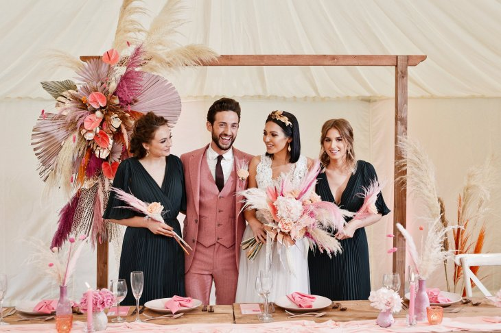A Festival Wedding Shoot at Simply Fields (c) Jules Fortune Photography (2)