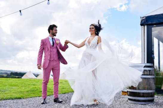 A Festival Wedding Shoot at Simply Fields (c) Jules Fortune Photography (9)