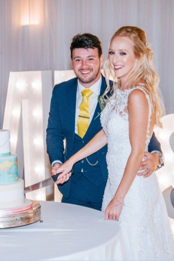 A Pastel Wedding at Slayley Hall (C) Mark Hedley Photography (71)