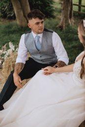 A Rustic Farm Wedding Shoot in North Wales (c) Fox & Bear Photography (35)