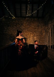Halloween Gothic Wedding Creative Shoot (c) Veil & Gun Photography (36)