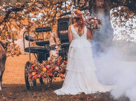 A Rustic Autumn Wedding Shoot at Townhead Estate (c) Clare Geldard Photography (3)