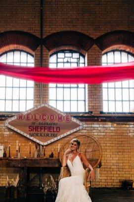 An Urban Wedding Styled Shoot at Kelham Island Museum (c) Veil & Gun Photography (35)