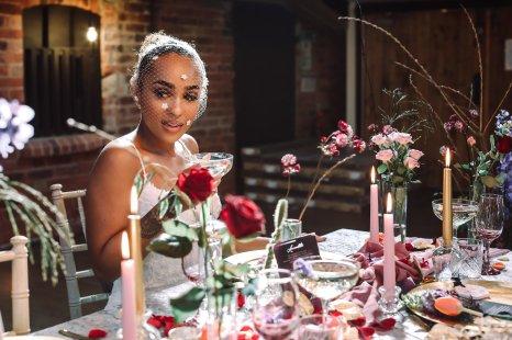 A Colourful Bridal Fashion Shoot at Deighton Lodge (c) Sasha Lee Photography (17)