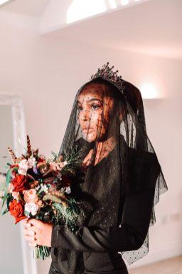 A Colourful Bridal Fashion Shoot at Deighton Lodge (c) Sasha Lee Photography (32)