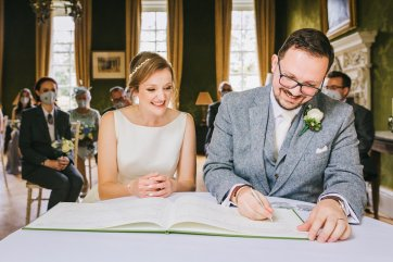 An Intimate Wedding at Gray's Court York (c) Amy Jordison Photography (40)