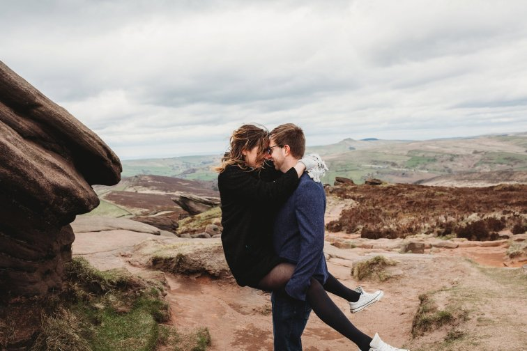 Lizzie & Warren Peak District Engagement (c) Kirstie Garlick Photography (23)