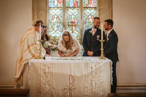 A Rustic Wedding In Loversall (c) Hannah Brooke Photography (38)