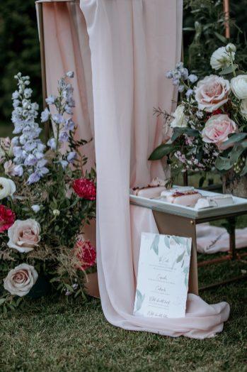 A Pretty Wedding Inspiration Shoot at Hazelwood Castle (c) Natalie Hamilton Photography (8)