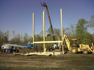 Observation and Rappelling Tower Construction - MARSOC Tower