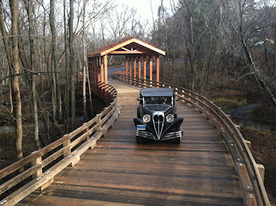 vehicular timber bridges for residential and commercial properties