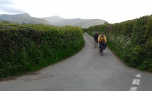 May cycle ride near Brecon