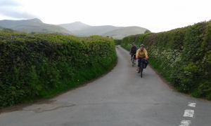 May cycle ride near Brecon