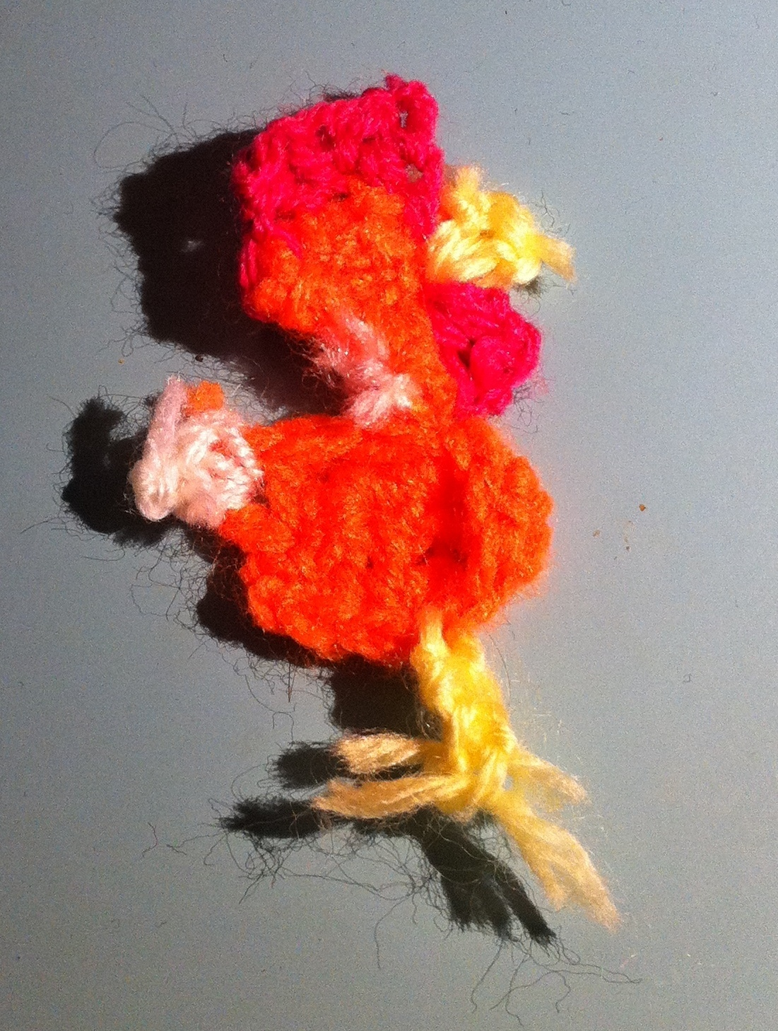 Free crochet chicken