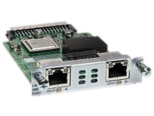 VWIC3-2MFT-T1E1-RF Cisco Third-Generation 2-Port T1/E1 Multiflex Trunk Voice/WAN Interface Card – expansion module