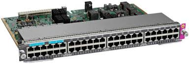 WS-X4748-UPOE+E Cisco Catalyst 4500E Series