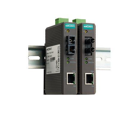 IMC-21-S-SC MOXA Ethernet Converter IMC-21-S-SC