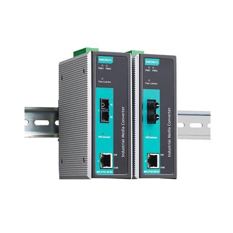 IMC-P101-S-SC MOXA Ethernet Converter IMC-P101-S-SC