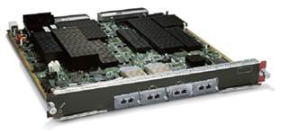 WS-X6704-10GE Cisco Catalyst 6500 4-Port 10 Gigabit Ethernet Module