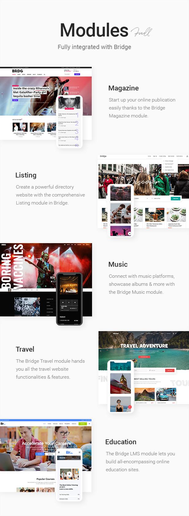 Bridge - Creative Multipurpose WordPress Theme - 12