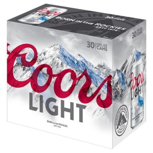 Coors Light 30 pack cans Newport RI 02840