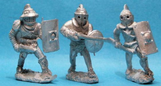 Samnites with sword x 2 Provocator with spear