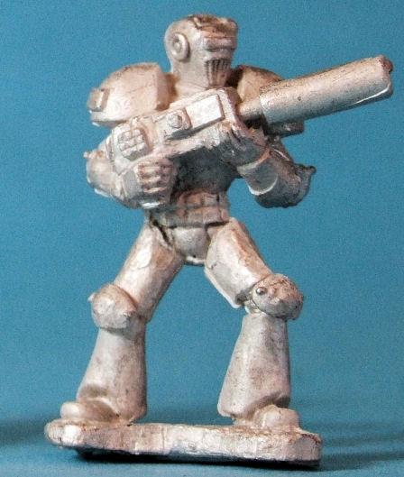Cryotonian with Laser Rifle III
