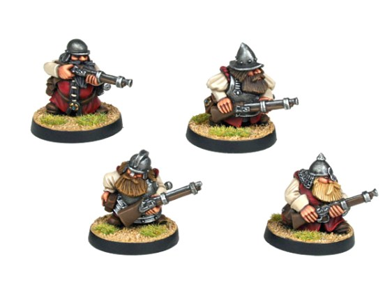 Dwarf Explorer with Muskets