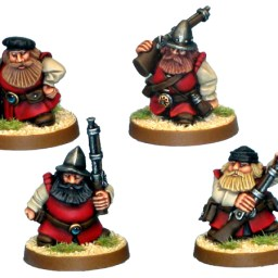Dwarf Explorer with Axes II