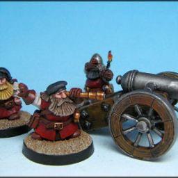 Dwarf Cannon & 3 Crew