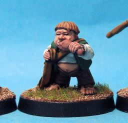 Halfling Militia with Slings