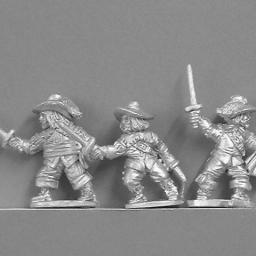 The Three Musketeers (civilian)
