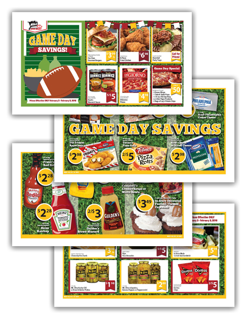 02 Mike's Super Market Superbowl 4-Page Wrap copy