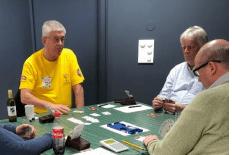 Vegar Næss slapp til som Blindemann med selveste Tom Johansen som spillefører