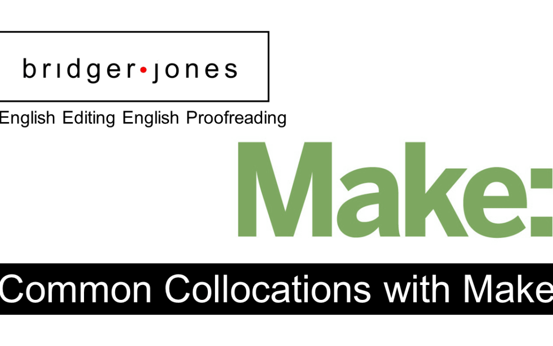 "Common Collocations with ""Make"""