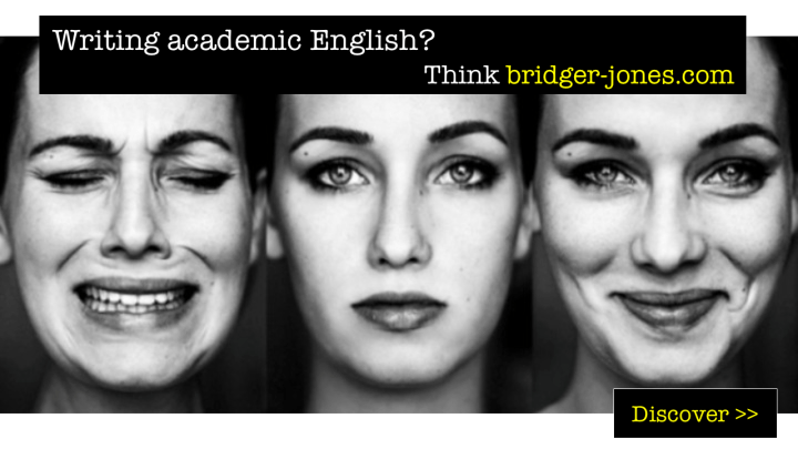 Academic editors and proofreaders