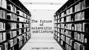 The future of scientific publishing