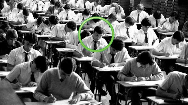Language correction for written English exams