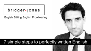 Easy English editing and proofreading