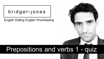 English Grammar Exercises - BRIDGER JONES