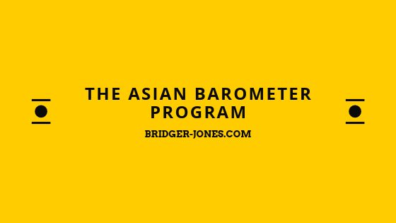 The Asian Barometer Program