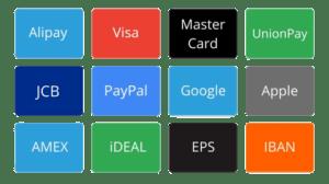 bj payment methods