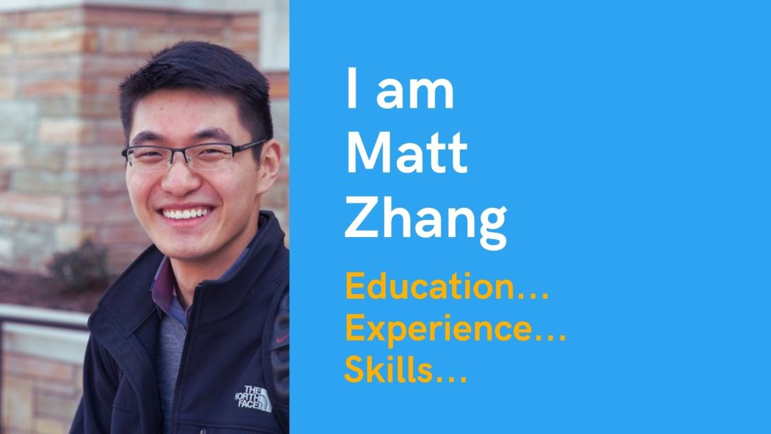I am Matt Zhang