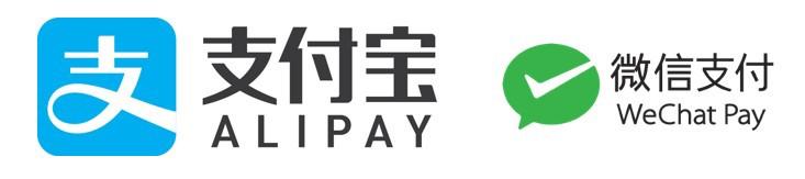 Bridger Jones accepts Alipay and WeChat Pay
