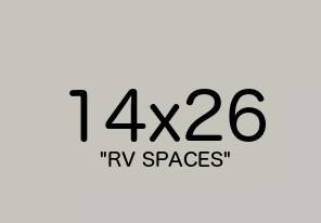 Belgrade Storage Units | Bridger View Storage | 14x26 RV Spaces